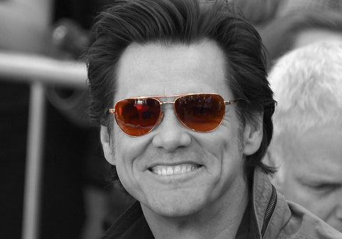 Jim Carrey on AmericanSunglass.com