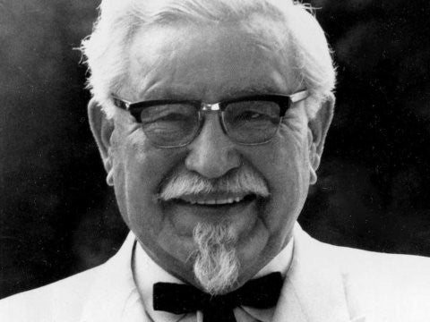 Colonel Sanders on AmericanSunglass.com