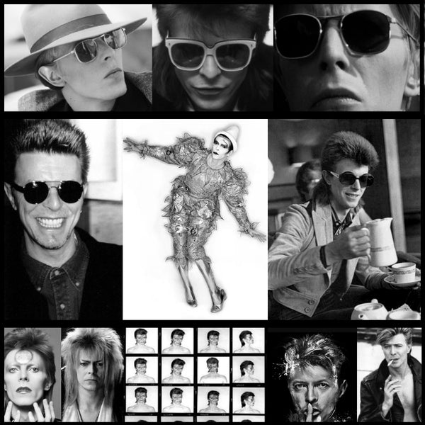 David Bowie and AmericanSunglass