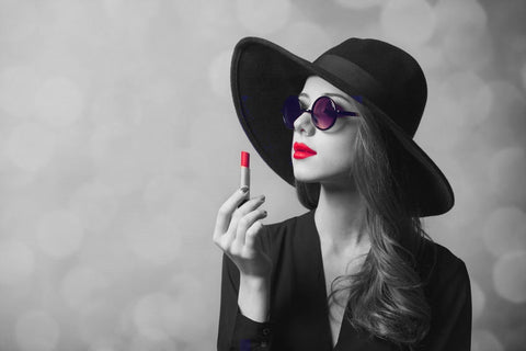 Match your lipstick and you sunglasses on AmericanSunglass.com