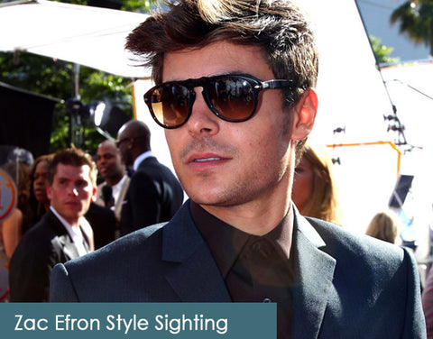 Zac Effron on AmericanSunglass