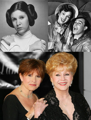 Carrie Fisher and Debbie Reynolds American Icons
