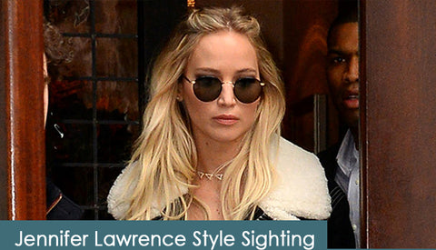 Jennifer Lawrence on AmericanSunglass.com