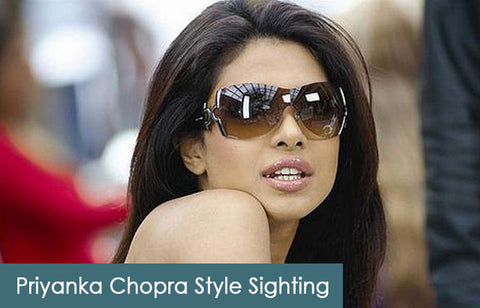 Priyanka Chopra on AmericanSunglass