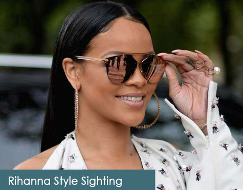 Rihanna on AmericanSunglass