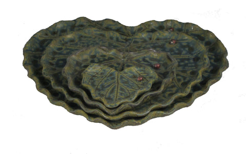 Heart-shaped Leaf Dinner plate