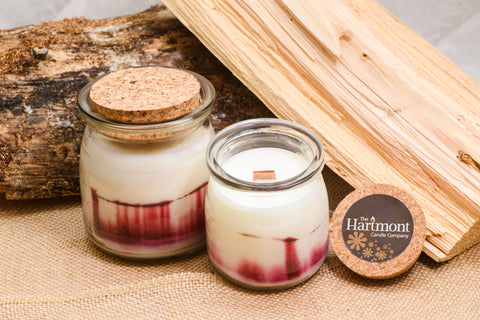 Strawberry Rhubarb Aurora - Soy Wax