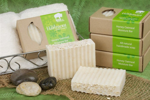 All Natural Honey Oatmeal Moistuer Bar