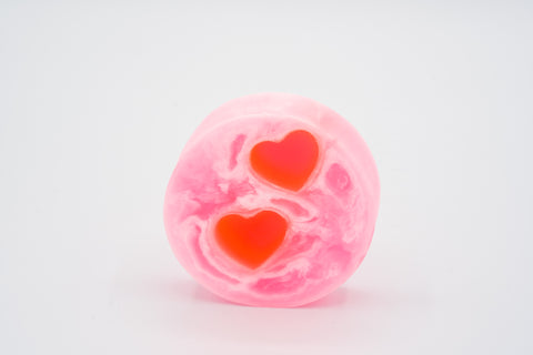 Double Heart Swirl Glycerin Soap