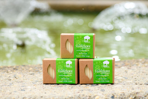 Unscented All Natural Goat's Milk Soap