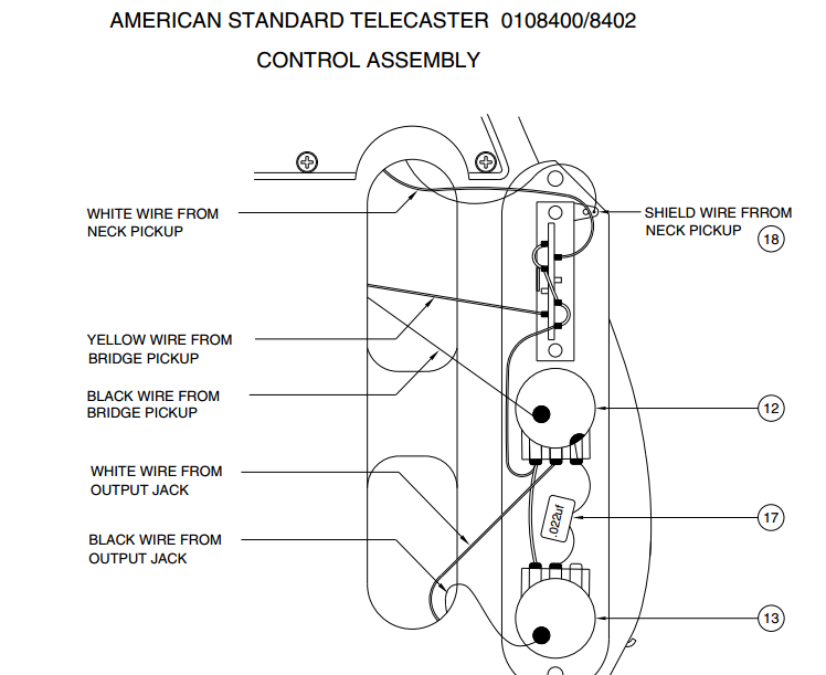 Diagrams  Telecaster     Sigler Music