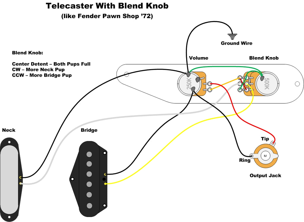 fender tex mex pickup wiring diagram