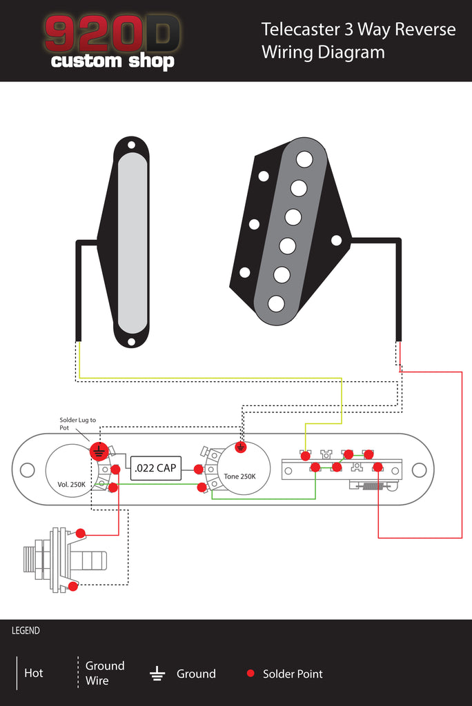 telecaster reverse wiring diagram image collections