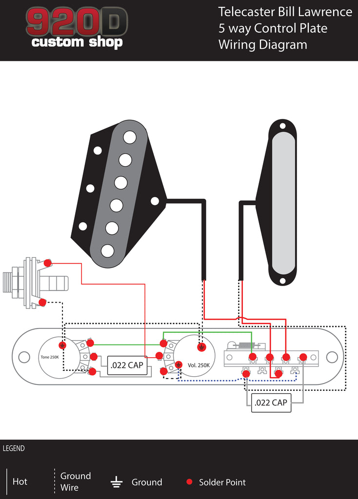 Bill Lawrence 5 Way Tele Diagram