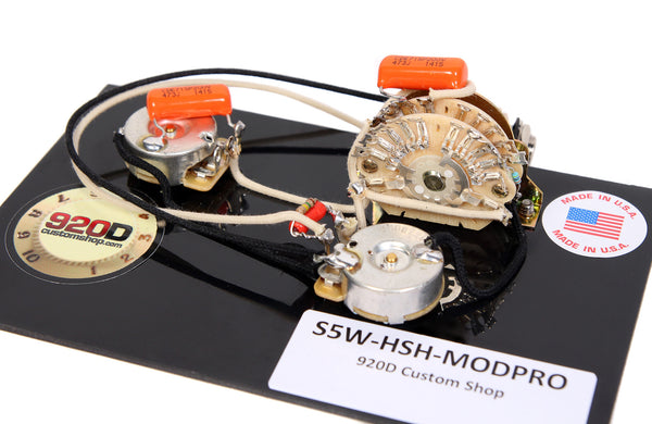 920d custom s5w hsh modpro suhr modern pro style wiring harness for hs sigler music. Black Bedroom Furniture Sets. Home Design Ideas