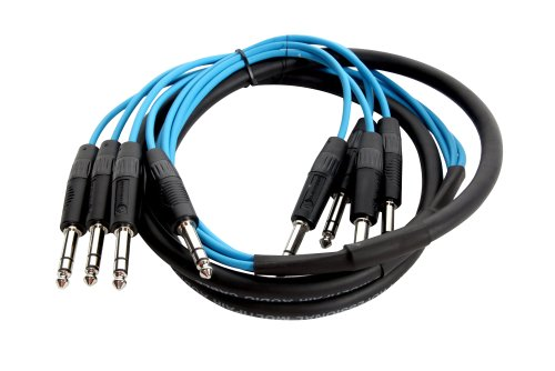 Elite Core TPS415 4 Channel 15-Feet TRS - TRS Patch Snake