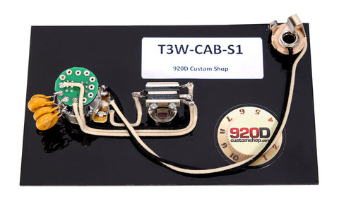 920D Wiring Harness for Fender Custom Shop La Cabronita Especial w/S1 Switch