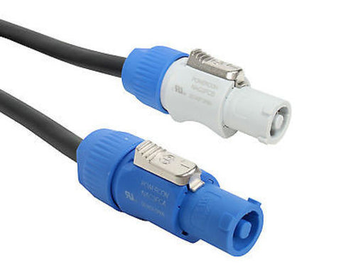 Elite Core Neutrik PowerCon Power Extension Cable 100'