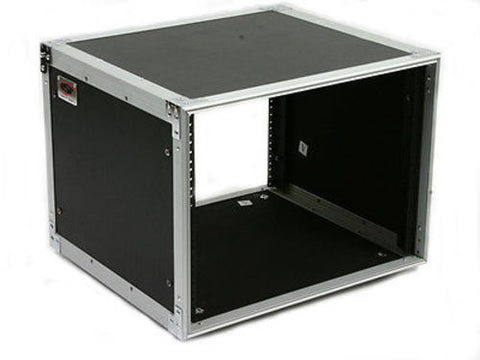 OSP 8 Space 8u Amp or Effects Rack Mount Studio Case