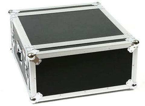 "OSP SC4U-20 4 Space 4 U ATA Shock Amp Flight Rack Case 19"" Wide 20"" Deep"