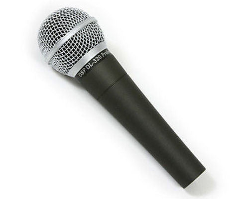 OSP DL-320 Dynamic Vocal Microphone Mic with Cable