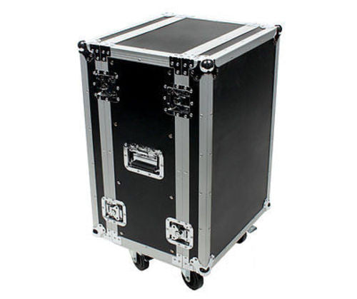 OSP Deluxe ATA 16 Space Effects Rack Case - Rails both Front and Back