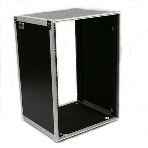 OSP 16 Space 16u Amp or Effects Rack Mount Studio Case