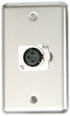Elite Core OSP D-1-XLR Duplex Wall Plate with 1-XLR