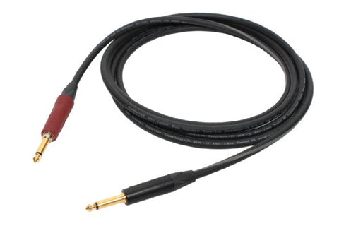 SuperFlex GOLD SFI-10SN Neutrik Silent Plug Premium Instrument Cable 10'