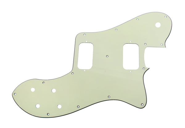 920D Custom 3 Ply Pickguard for '72 T-Deluxe CNC Cut, Mint Green