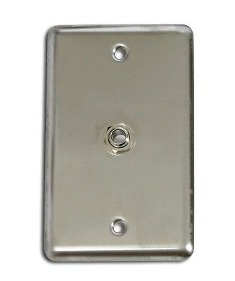 OSP Duplex Wall Plate w/ 1 1/4' Stereo Jack Connector