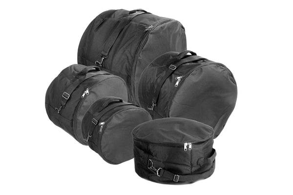 XSPRO DGB-XS5 5 Piece Standard Deluxe Padded Drum Bag Set