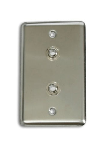 Elite Core OSP D-2-1/4 Duplex Wall Plate with 2 1/4-Inch Jack