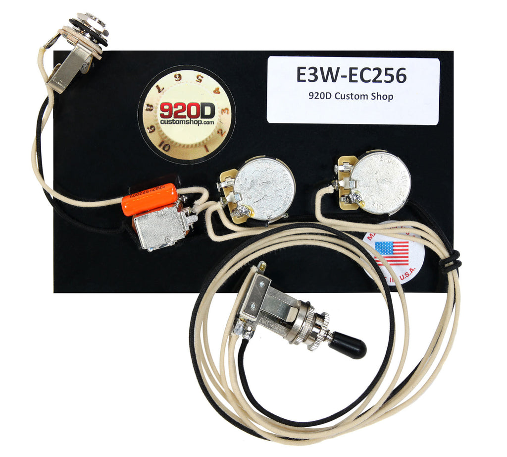 920D Custom E3W-EC256 Upgraded Wiring Harness for ESP EC256 – Sigler MusicSigler Music