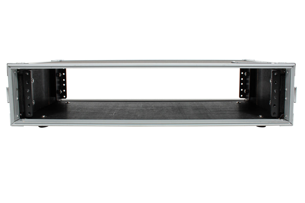 "Front Back Rails 14/"" Depth XSPRO XS3U-14 3 Space ATA Rack Flight Case"