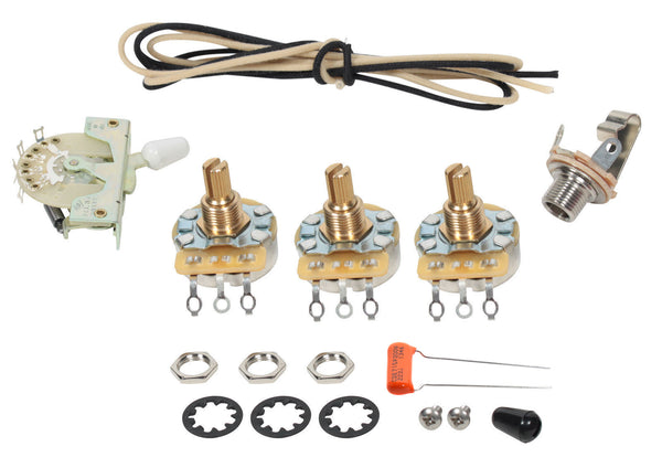 Premium 920D 5 Way Wiring Kit for Fender Stratocaster