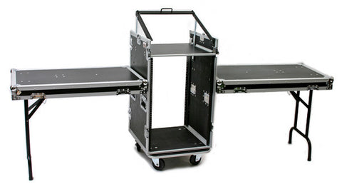 OSP PRO19 16 Space ATA Mixer/Amp Rack & Shelfs