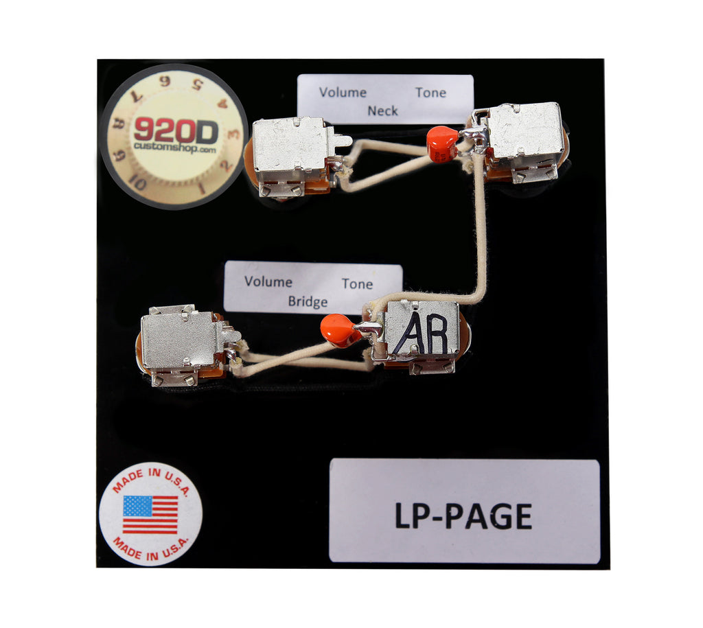 9240_2F1485555485_2Flp page_01_1024x1024?v=1485555553 920d custom gibson les paul jimmy page wiring harness bourns 500k wiring harness les paul at metegol.co
