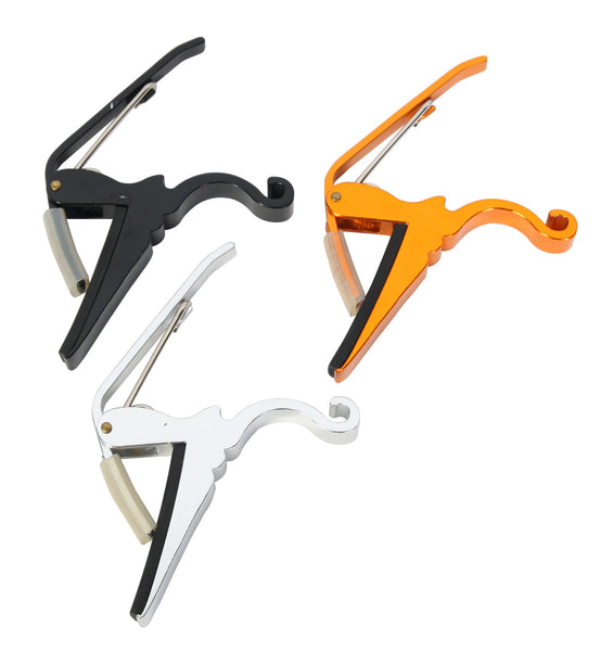 OSP Quick Change Capo for Acoustic and Electric Guitar - 3 Pack