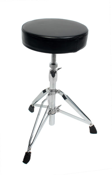 Tripod Padded Drum Throne Seat Stool