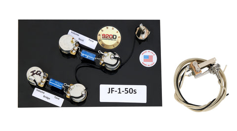 920D Peevy JF-1 50's Guitar Wiring Harness CTS Switchcraft PIO Paper In Oil