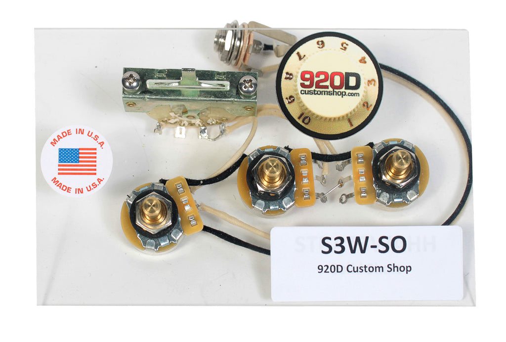 920d 3 way wiring harness fender stratocaster strat hh solid shaft920d 3 way wiring harness fender stratocaster strat hh solid shaft \u2013 sigler music