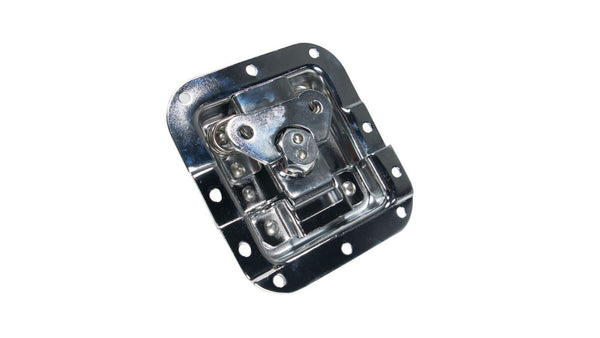 "ATA-BUTTERFLY-4 Lockable Recessed Butterfly Latch 4"" x 4.25"""