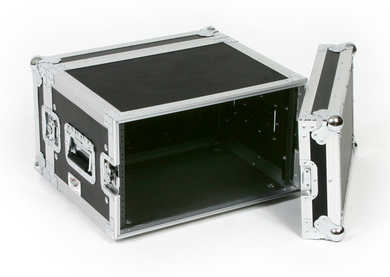 6 space rack case
