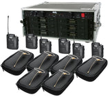 Audio-Technica 3110 Wireless Six Pack System w/HS-09