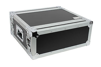 "XSPRO XS4U-14 4 Space 4U ATA Effects Rack Flight Tour Case 19"" Wide 14"" Deep"