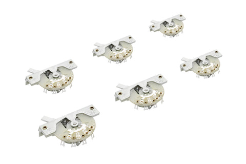 Original USA CRL 5-Way Switch for Fender Stratocaster - 6 Pack