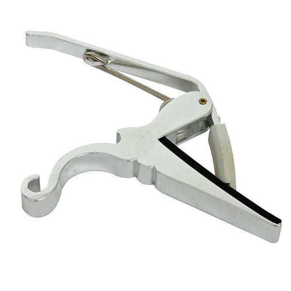 OSP Quick Change Capo for Acoustic Electric Guitar - Silver