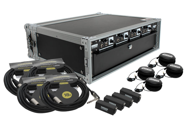 Elite Core HA4X4 Deluxe Rack Pack Four User System