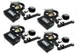 Elite Core 4-Pack of PMA Personal Monitor Deluxe Stations w/ EU-5X Earphones